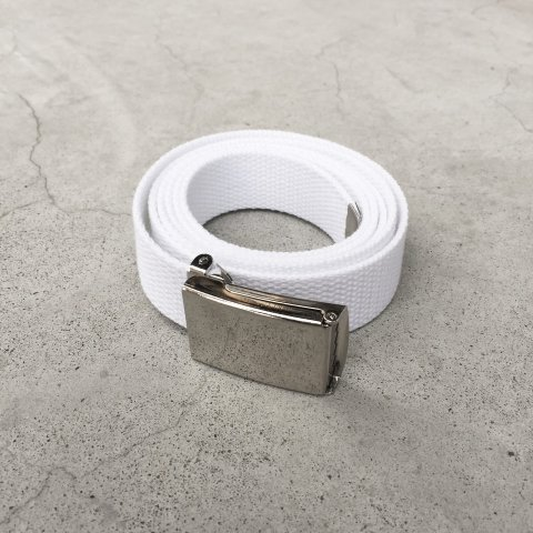 MAGILL LA / WEB BELT - white