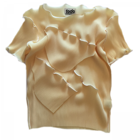 kotohayokozawa / Pleats Tops - short sleeve 09