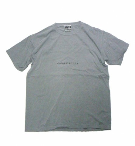 SPUT performance / CAT&PETBOTTLE T-sht(Escape) - grey