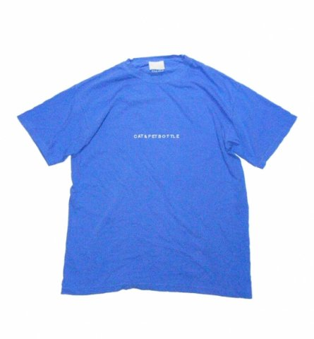 SPUT performance / CAT&PETBOTTLE T-sht(Escape) - blue