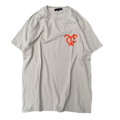 <img class='new_mark_img1' src='//img.shop-pro.jp/img/new/icons3.gif' style='border:none;display:inline;margin:0px;padding:0px;width:auto;' />  SLIP INSIDE / YYG Mets Tee - beige × orange