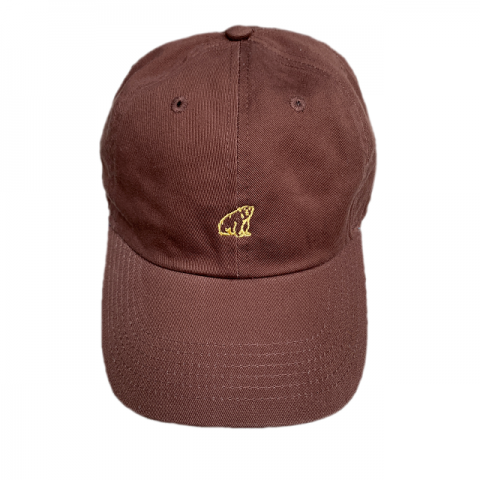shirokuma / shirokuma Logo Cap - brown × cream