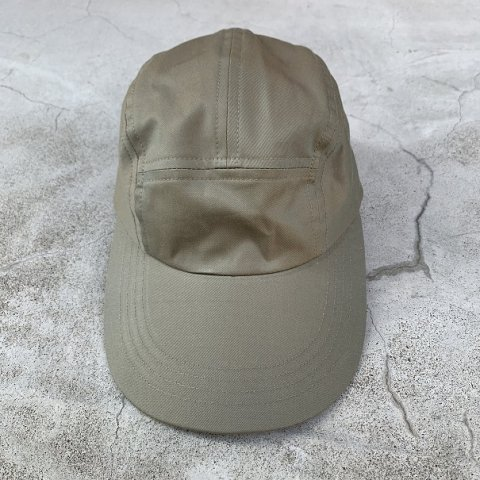 SLIP INSIDE × BE PREPARED / 5 Panel Long-bill Cap - burberry khaki