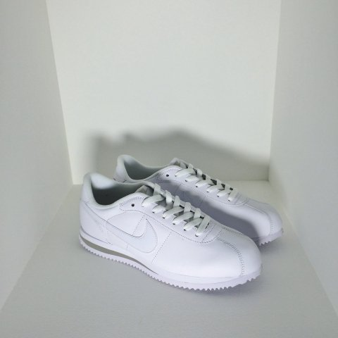 NIKE / CORTEZ BASIC LEATHER - all white