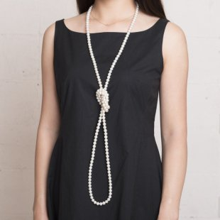 longue perle ロングパールネックレス