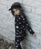HUXBABY(ハックスベイビー)space long sleeve top サイズ2Y/3Y