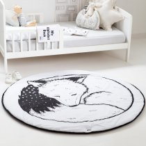 <img class='new_mark_img1' src='https://img.shop-pro.jp/img/new/icons14.gif' style='border:none;display:inline;margin:0px;padding:0px;width:auto;' />babee&me  Organic Play Mat-Sleeping Fox オーガニックプレイマット
