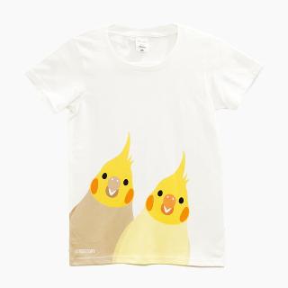 Tシャツ(SMILE BIRD  / オカメインコ)