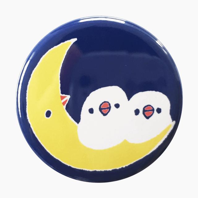 chitch マグネット(月と文鳥)