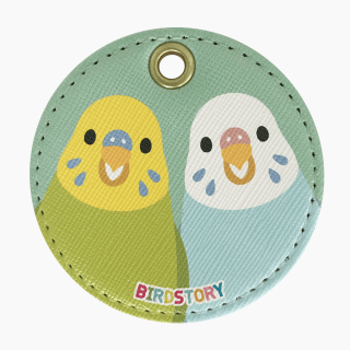 SMILE BIRD キーホルダー(セキセイインコ)