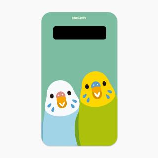 SMILE BIRD モバイルバッテリー(セキセイインコ)