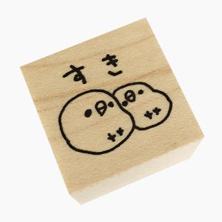 chitch スタンプ(文鳥(すき))