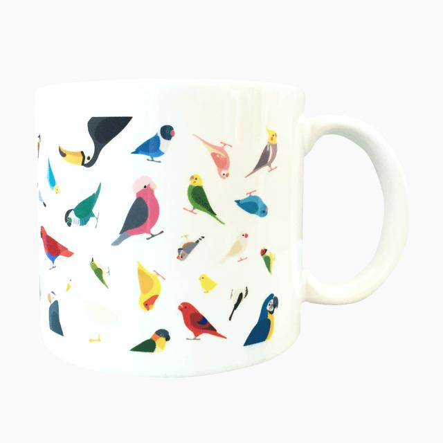 BIRD!BIRD!BIRD!  マグカップ
