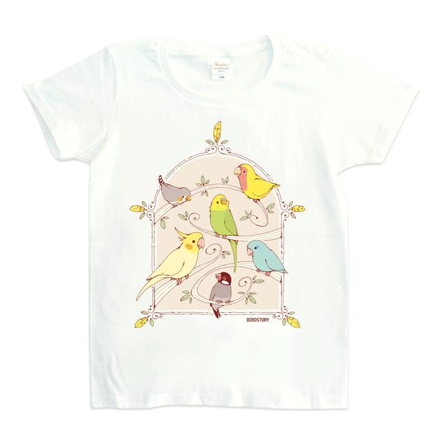 Tシャツ(GREEN BIRD )