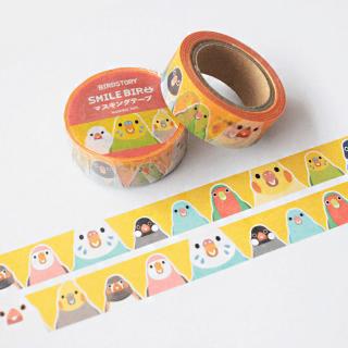 SMILE BIRD マスキングテープ