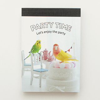 PARTY TIME メモ帳