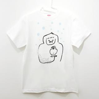 イエティに育てられた文鳥 Tシャツ