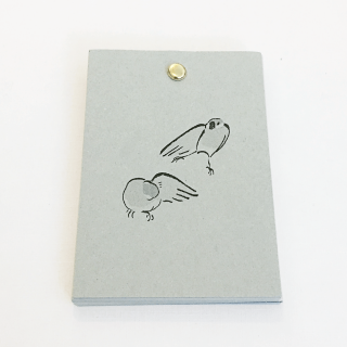 TONPESO 文鳥メモ(シルバー文鳥)