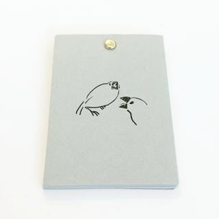 TONPESO 文鳥メモ(白文鳥)