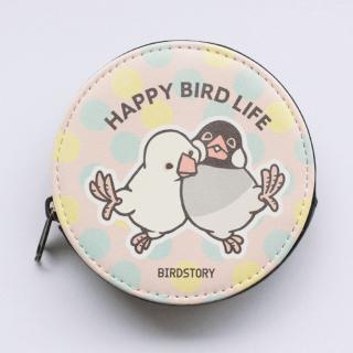 コインケース(HAPPY BIRD LIFE / 文鳥)