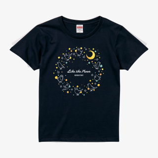 Tシャツ(月 - Like The Moon-)