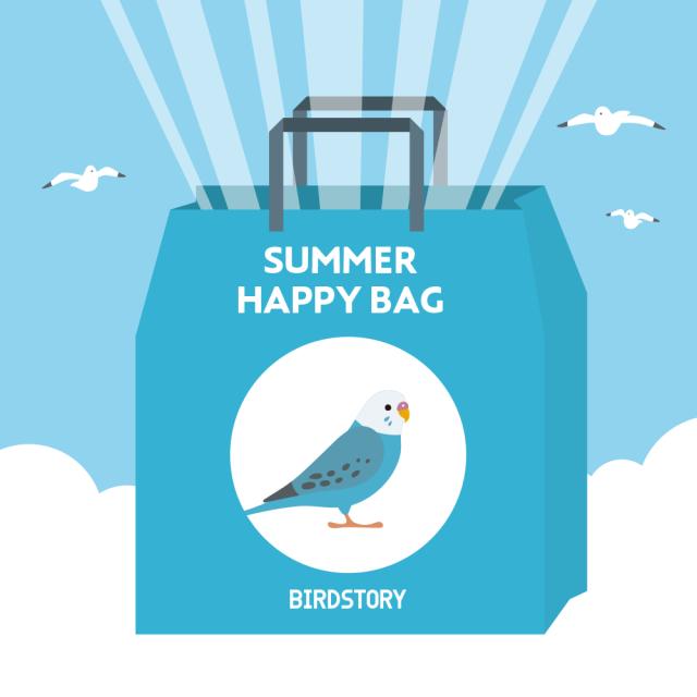 SUMMER HAPPY BAG 2020(BIRDSOTRY / セキセイインコ)