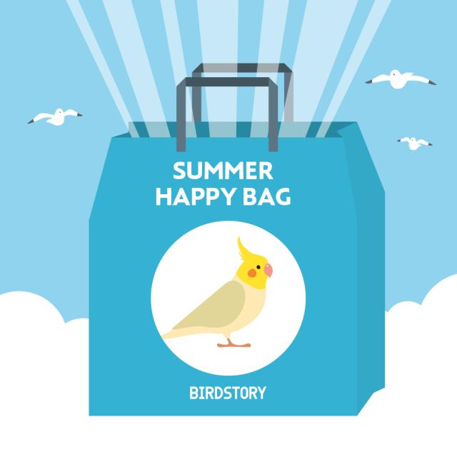 SUMMER HAPPY BAG 2020(BIRDSOTRY / オカメインコ)