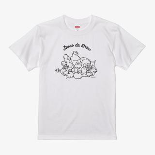 Tシャツ(Doco de show / セキセイインコ)