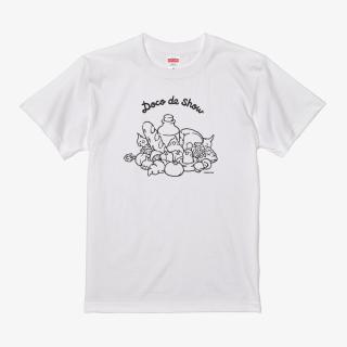 Tシャツ(Doco de show / オカメインコ)