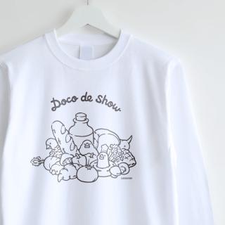 長袖Tシャツ(Doco de show / 文鳥)