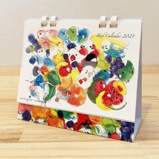オクムラミチヨ 2021年カレンダー(卓上タイプ)