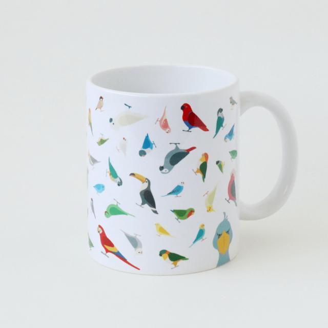 マグカップ(BIRD!BIRD!BIRD!)