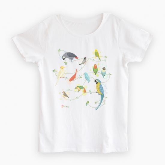 Tシャツ(Natural Bird)