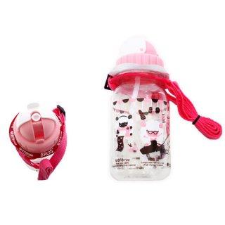 ストローボトル(ピンク)