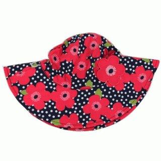ジンボリー大花柄帽子