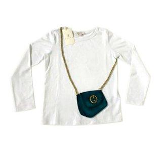 GUCCI 白ロングTシャツ