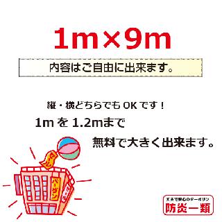 汎用1m×9m