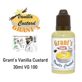Grant' Vanilla Custard 30ml VG 100