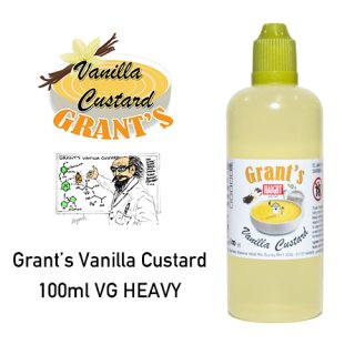 Grant' Vanilla Custard 100ml VG HEAVY