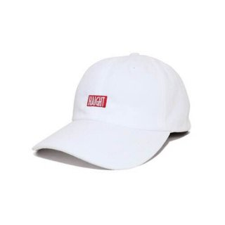 HAIGHT BOX LOGO BALL CAP WHITE