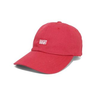 HAIGHT BOX LOGO BALL CAP RED