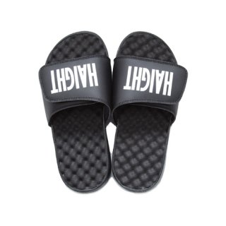 HAIGHT / Logo Shower Sandal - Black