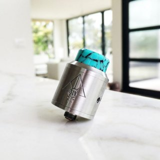 Half Moon Mods Wide Drip Tip /  Tiff Blue Rock