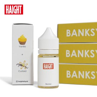 <img class='new_mark_img1' src='//img.shop-pro.jp/img/new/icons29.gif' style='border:none;display:inline;margin:0px;padding:0px;width:auto;' />HAIGHT E-LIQUID Banksy 30ml