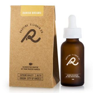 ROUTINE E-LIQUIDS Danish Dreams 30ml