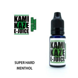 KAMIKAZE E-JUICE  SUPER HARD MENTHOL
