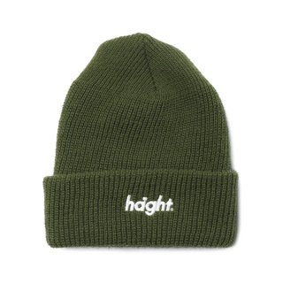 <img class='new_mark_img1' src='//img.shop-pro.jp/img/new/icons5.gif' style='border:none;display:inline;margin:0px;padding:0px;width:auto;' />HAIGHT Round Logo Knit Cap Olive