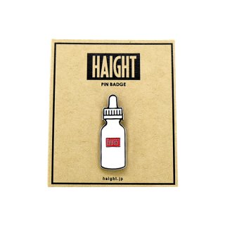 HAIGHT / Liquid Bottle Pin Badge