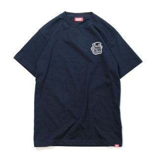 HAIGHT×GRAM / Build T-Shirt - Navy