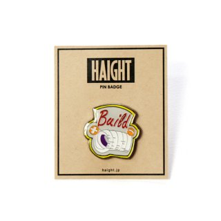 HAIGHT x Gram Pin Badge BUILD